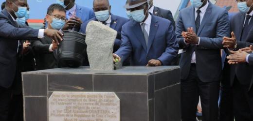 Plan National de Développement : Alassane Ouattara lance les travaux de construction de deux unités de transformations de fèves de cacao
