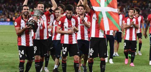 FOOTBALL/SUPERCOUPE D'ESPAGNE: L'Athletic Bilbao domine le Barça et s'offre le trophée, Messi écope de son 1er carton rouge en Liga