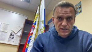 RUSSIE/INCARCERE POUR 4 SEMAINES: Navalny défie Poutine et appelle les Russes à manifester dans les rues