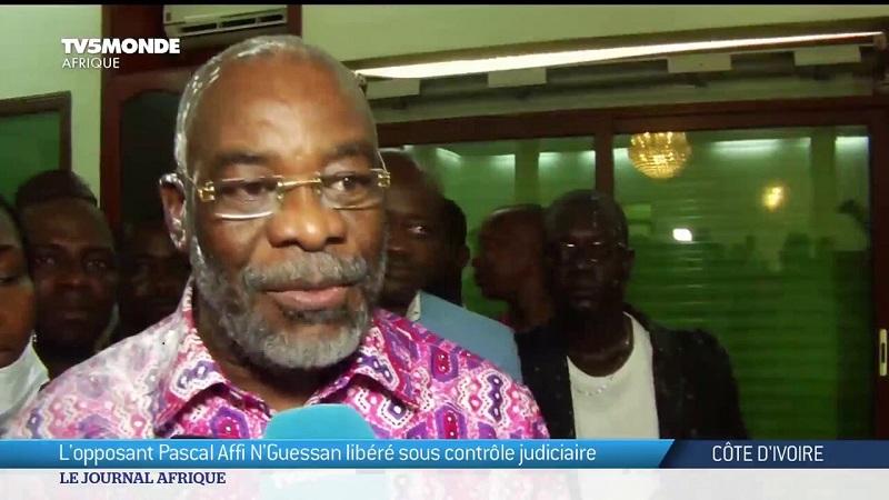 C.I.-APRES SA LIBERATION/ AFFI NGUESSAN RACONTE: «Je suis passé tout près de la mort»