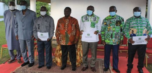 MODERNISATION DU PDCI: Bédié remet les feuilles de route aux nouveaux responsables
