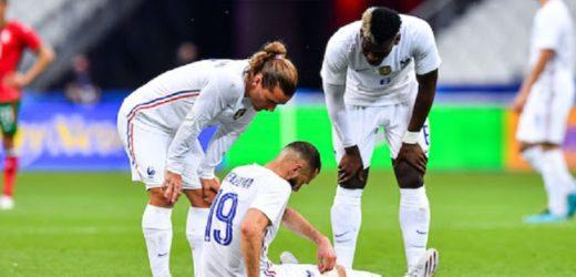 EURO 2021/BLESSURE DE BENZEMA: Des nouvelles rassurantes de l'attaquant des Bleus
