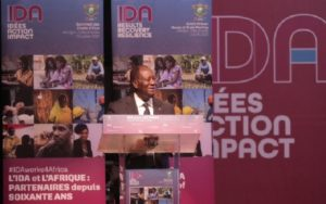CÔTE D'IVOIRE/REUNION DE L'IDA: Alassane Ouattara souhaite une accélération du développement en Afrique (Allocution)