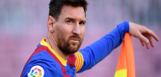 FOOTBALL/LIGA: Barcelone va devoir réduire sa masse salariale de 200 millions d'euros pour conserver Messi